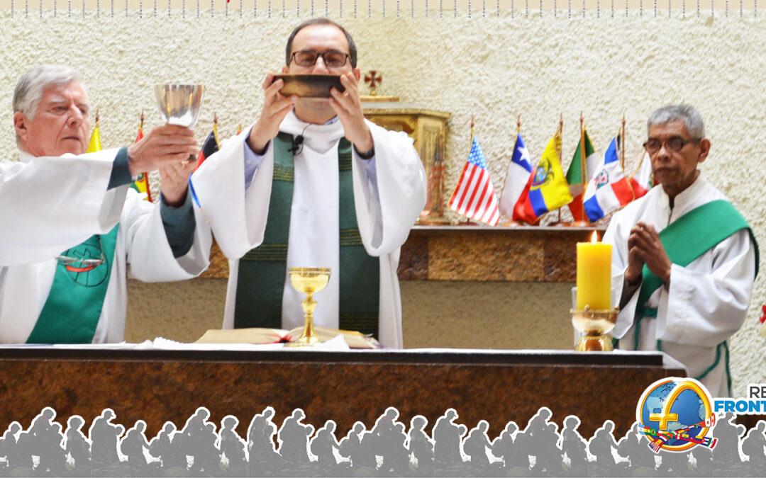 Fotos misa día del inmigrante